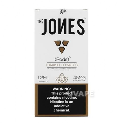 Картриджи на джул The Jones Pods - Turkish Tobacco