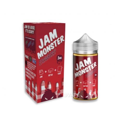 Премиум жидкость Jam Monster - Strawberry 100 мл.